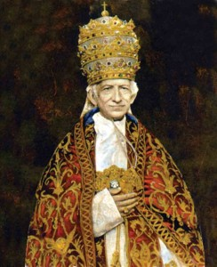 His Holiness, Pope Leo XIII
