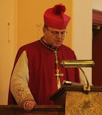 His Excellency, Bishop Donald Sanborn