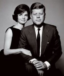 President John and First Lady Jacqueline Kennedy