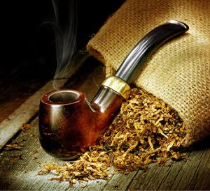 The glorious past time of pipe smoking