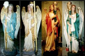 Beautiful Examples of Mrs. Arlinghaus' Restoration Work