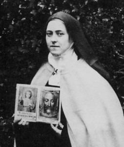 St Therese with the Holy Face image
