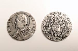 Pope Saint Pius X Coin