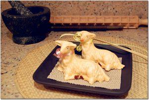 Easter Paschal Lamb - Marzipan
