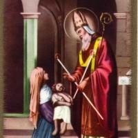St Blaise - Blessing of throat