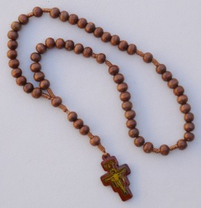 Cord Wooden Rosary