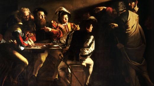 SaintMatthew-Caravaggio
