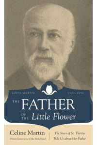 Father Little Flower stock photo