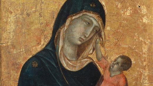 Duccio: Madonna and Child
