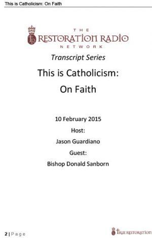 Transcripts – True Restoration