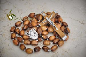 Olive Wood Pro Rosary