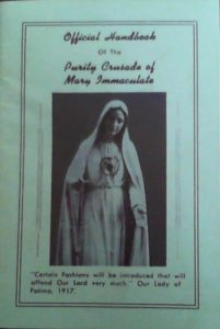 Modesty booklet