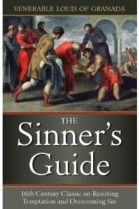 Sinner's Guide stock photo