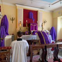 Lenten Mass in Paris